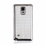 Samsung Galaxy White Caiman Corocodile Cell Phone Case